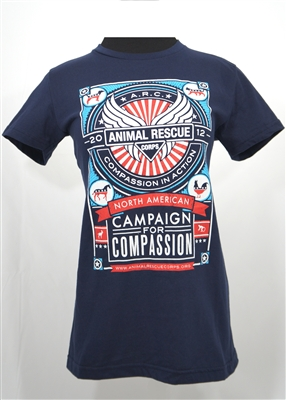 Women 39 s 2012 north american tour t shirt for T shirt printing downtown los angeles